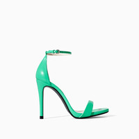 HIGH HEEL SANDAL WITH NARROW STRAPS