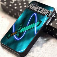 Minecraft Creeper Sword customized for iphone 4/4s/5/5s/5c, samsung galaxy s3/s4, and ipod touch 4/5
