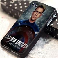 Captain America Winter Soldier poster customized for iphone 4/4s/5/5s/5c, samsung galaxy s3/s4, and ipod touch 4/5