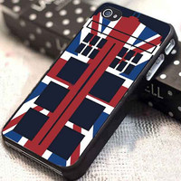 Tardis Who America customized for iphone 4/4s/5/5s/5c, samsung galaxy s3/s4, and ipod touch 4/5