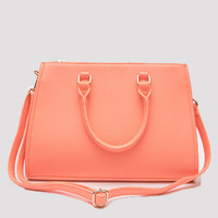 Set In Stone Purse - Coral