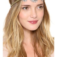Triple Galactic Crystal Headpiece