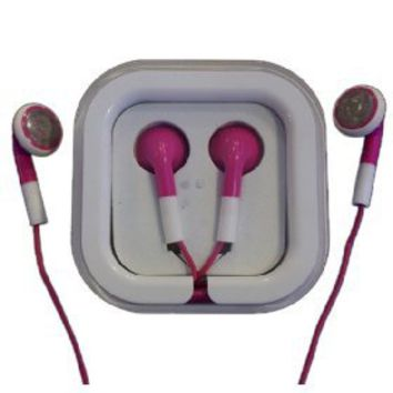 Pink Mini Earphone [3332] - US$3.00 - China Electronics Wholesale - FlyDolphin.com