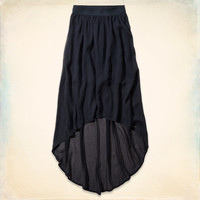 Hollister Natural Waist Maxi Skirt