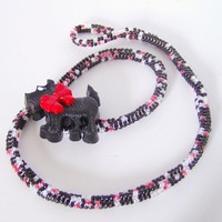 Scottie dog wrap bracelet
