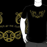 I open at the close.... Gold T-Shirts & Hoodies