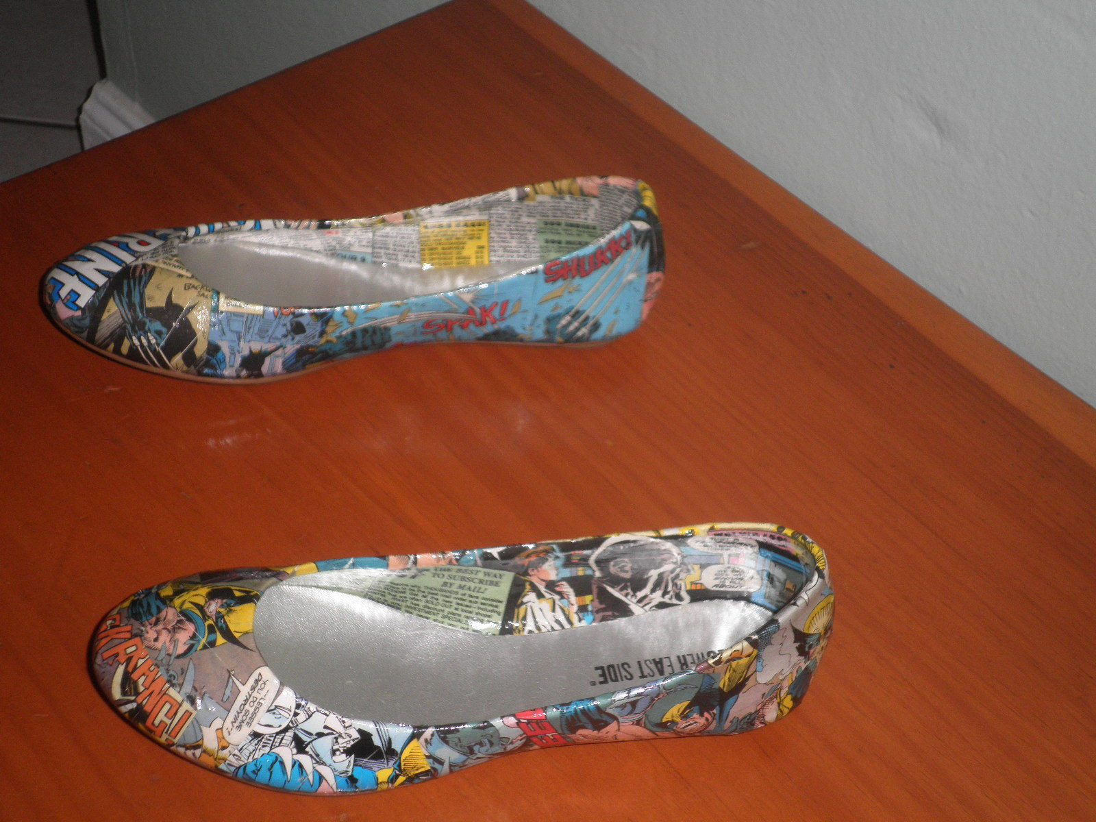 Custom Comic Book Flats by ComicZena on Etsy