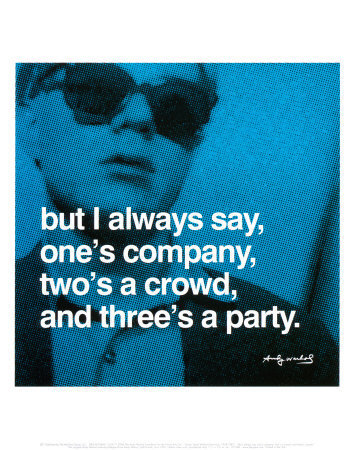 Three's a Party Posters by Andy Warhol at AllPosters.com