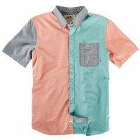 Vans Rusden Block S/S Woven Shirt - Men's at CCS