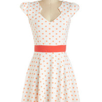 The Story of Citrus Dress in Orange | Mod Retro Vintage Dresses | ModCloth.com