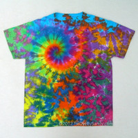 Tie Dye Shirt- Large Rainbow Galaxy