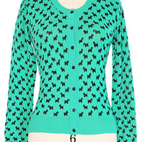Great Scotty Cardigan in Green