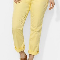 Lauren Ralph Lauren Roll Cuff Cotton Chinos (Plus Size) | Nordstrom
