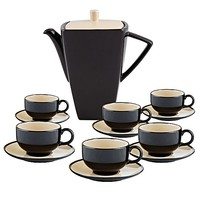 Modern Delight 13-Piece Tea Set by Claytan