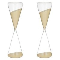 Perfect Timing Triangle Hourglass, 2hr (Set of 2) by Amalfi