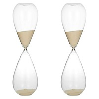 Perfect Timing Oval Hourglass, 2hr (Set of 2) by Amalfi