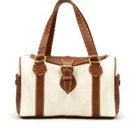 TWO-TONE BOWLING BAG - Woman - New this week - ZARA United States