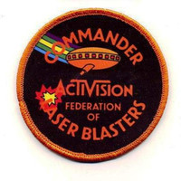Activision High Score Laser Blast Patch -- FREE SHIPPING