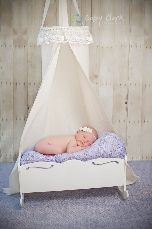 Newborn Linen and Lace Hanging Canopy Photo Prop by PetuniaandIvy