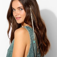 Suede Feather Bobby Pin - Urban Outfitters
