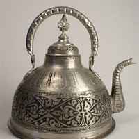 The Loaded Trunk: Turkish Tinned Copper Teapot
