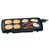 Presto Cool Touch Griddle - Black