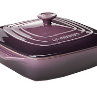 Le Creuset 2.75 Qt. Stoneware Covered Square Casserole