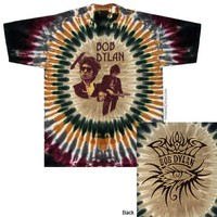Bob Dylan - Deal Tour Tie Dye T Shirt on Sale for $25.95 at HippieShop.com