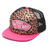 Leopard Beach Girl Trucker | Shop Hats at Vans