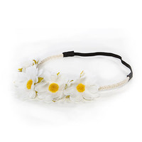 Papaya Clothing Online :: DAISY FLORAL HAIR BAND