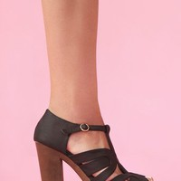 Colette Cutout Platform in Shoes at Nasty Gal