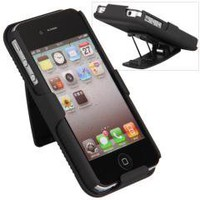 Swivel Belt Clip Holster Hard Case Cover for iPhone 4 4s