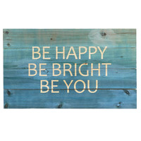 Be Bright Wall Decor