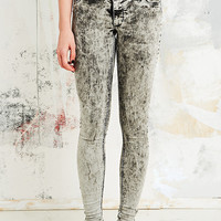 Cheap Monday Spray On Low-Rise Jeans in Master Ice Grey - Urban Outfitters
