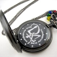 Dumbledore's Army Pocket watch Harry Potter by WolfbirdStudios