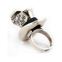 Alice in Wonderland Mad Hatter Ring by Disney Couture
