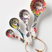 Pop-Print Measuring Spoons - Anthropologie.com