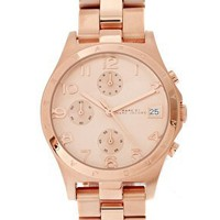 Marc By Marc Jacobs | Marc By Marc Jacobs Rose Gold Bracelet Watch at ASOS