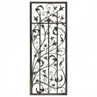 Paragon Rusty Vine Trellis I Metal Art - 9814 - Wall Art & Coverings - Decor
