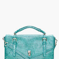 Marc By Marc Jacobs Green Intergalocktic Laptop Bag for women | SSENSE