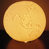 Globe Trotter Desk Lamp