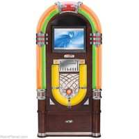 Crosley Jukeboxes Digital Crosley CR12-DI Wurlitzer Reproduction Jukes from RetroPlanet.com