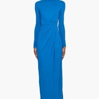 Matthew Williamson Color Block Maxi Dress for women | SSENSE