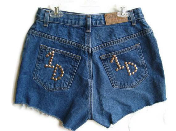 One Direction Shorts High Waisted by shortyshorts on Etsy