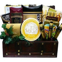 The Good Life Gourmet Food and Snack Chest Smoked Salmon Gift Basket