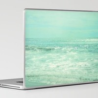 Where Ocean Meets Sky Laptop & iPad Skin by Lisa Argyropoulos | Society6