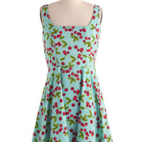 Very Berry Charming Dress in Cherries | Mod Retro Vintage Dresses | ModCloth.com