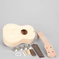 DIY Build Your Own Ukulele Kit- Green One