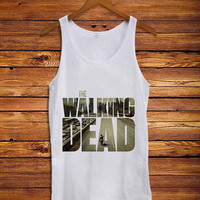 the walking dead street _ Tank Top Men And Women Size S,M,L,XL,XXL Design By : mbedugal