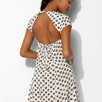 Glamorous Silky Lace-Up Back Dress - Urban Outfitters